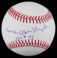 "Tommy Lasorda Signed OML Baseball Inscribed ""H.O.F. 97"" (PSA COA) at PristineAuction.com"