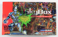 1993 Skybox Marvel Universe 4 IV Hobby Box with (36) Packs at PristineAuction.com