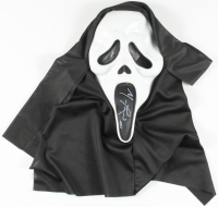 "Matthew Lillard Signed ""Scream"" Ghostface Mask Inscribed ""Stu"" (JSA COA) at PristineAuction.com"