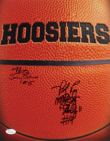 "Maris Valainis & Brad Long Signed ""Hoosiers"" 11x14 Photo Inscribed ""Jimmy Chitwood"", ""Hoosiers"", & ""Buddy"" (JSA COA) at PristineAuction.com"