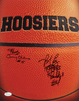 """Maris Valainis & Brad Long Signed """"Hoosiers"""" 11x14 Photo Inscribed """"Jimmy Chitwood"""", """"Hoosiers"""", & """"Buddy"""" (JSA COA) at PristineAuction.com"""