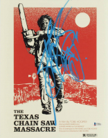 "Andrew Bryniarski Signed ""Texas Chainsaw Massacre"" 11x14 Movie Poster Print (Beckett COA) at PristineAuction.com"