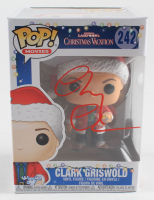 """Chevy Chase Signed """"National Lampoon's Christmas Vacation"""" #242 Funko Pop! Vinyl Figure (Schwartz COA & Chase Hologram) at PristineAuction.com"""