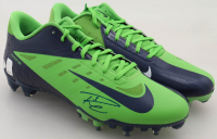 Pair of (2) Russell Wilson Signed Nike Football Cleats (PSA COA & Wilson Hologram) at PristineAuction.com