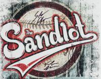 """Victor DiMattia, Marty York, & Shane Obedzenski Signed """"The Sandlot"""" 11x14 Photo (JSA COA) at PristineAuction.com"""