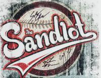 """Victor DiMattia, Marty York & Shane Obedzenski Signed """"The Sandlot"""" 11x14 Photo (JSA COA) at PristineAuction.com"""