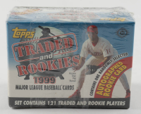 1999 Topps Traded and Rookies Complete Set of (121) Baseball Cards at PristineAuction.com