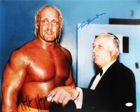 Hulk Hogan & Tommy Lasorda Signed 16x20 Photo (JSA COA) at PristineAuction.com