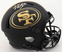 Nick Bosa Signed 49ers Full-Size Eclipse Alternate Speed Helmet (Beckett COA) (See Description) at PristineAuction.com