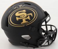 Deion Sanders Signed 49ers Full-Size Eclipse Alternate Speed Helmet (Beckett COA) (See Description) at PristineAuction.com