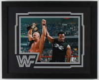 Mike Tyson Signed 18x22 Custom Framed Photo Display (Fiterman Sports Hologram) (See Description) at PristineAuction.com