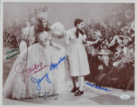 """""""The Wizard of Oz"""" 11x14 Photo Signed by (5) with Clarence Swensen, Karl Slover, Mickey Carroll, Donna Stewart-Hardway, Jerry Maren (JSA COA) at PristineAuction.com"""
