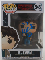 "Millie Bobby Brown Signed ""Stranger Things"" #545 Eleven Funko Pop! Vinyl Figure Inscribed ""011"" (Beckett COA) at PristineAuction.com"