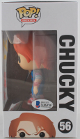 """Alex Vincent Signed """"Child's Play 2"""" #56 Chucky Funko Pop! Vinyl Figure Inscribed """"Chucky Made Me Do It!"""" & """"Andy"""" (Beckett COA) at PristineAuction.com"""