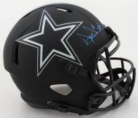Dak Prescott Signed Cowboys Full-Size Eclipse Alternate Speed Helmet (Beckett COA & Prescott Hologram) at PristineAuction.com