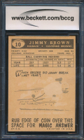 Jimmy Brown 1959 Topps #10 (BCCG 9) at PristineAuction.com