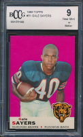 Gale Sayers 1969 Topps #51 (BCCG 9) at PristineAuction.com