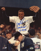 """Dwight """"Doc"""" Gooden Signed Yankees 8x10 Photo Inscribed """"No Hitter"""" & """"5-14-96"""" (Schulte Sports Hologram) at PristineAuction.com"""