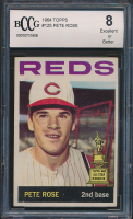 Pete Rose 1964 Topps #125 (BCCG 8) at PristineAuction.com