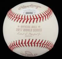"Charlie Morton Signed 2017 World Series Baseball Inscribed ""All The Best!"" (JSA COA) (See Description) at PristineAuction.com"