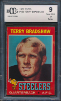 Terry Bradshaw 1971 Topps #156 (BCCG 9) at PristineAuction.com