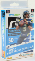 2020 Panini Donruss Football Hanger Box with (50) Cards at PristineAuction.com