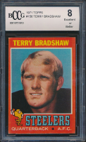 Terry Bradshaw 1971 Topps #156 (BCCG 8) at PristineAuction.com