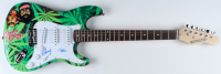 "Cheech Marin & Tommy Chong Signed 39.5"" Electric Guitar Inscribed ""16"" (JSA Hologram) at PristineAuction.com"