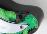 """Cheech Marin & Tommy Chong Signed 39.5"""" Electric Guitar Inscribed """"16"""" (JSA Hologram) at PristineAuction.com"""