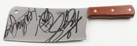 "Andrew Bryniarski Signed ""The Texas Chainsaw Massacre"" Stainless Steel Cleaver Inscribed ""Leatherface"" with Hand-Drawn Sketch (JSA COA) at PristineAuction.com"