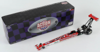 Kenny Bernstein Signed LE 1997 Budweiser Dragster - 1:24 Premium Action Diecast Car (JSA COA) at PristineAuction.com