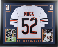Khalil Mack Signed 35x43 Custom Framed Jersey (JSA COA) at PristineAuction.com