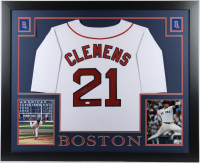 Roger Clemens Signed 35x43 Custom Framed Jersey (JSA COA) at PristineAuction.com