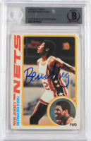 Bernard King Signed 1978-79 Topps #75 RC (BGS Encapsulated) at PristineAuction.com