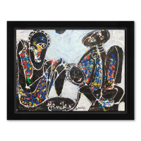 Jenik Cook Signed 22x28 Custom Framed Original Acrylic Painting at PristineAuction.com