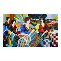"Patricia Govezensky Signed ""Favorite Place"" 24x40 Original Acrylic On Canvas at PristineAuction.com"