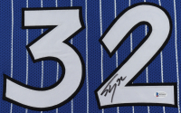 Shaquille O'Neal Signed 35x43 Custom Framed Jersey (Beckett COA) at PristineAuction.com