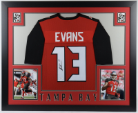 Mike Evans Signed 35x43 Custom Framed Jersey (JSA COA) at PristineAuction.com