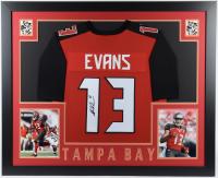 Mike Evans Signed 35x43 Custom Framed Jersey (JSA COA) at PristineAuction.com