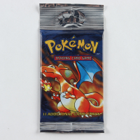 Pokemon Base Set Charizard Booster Pack with (11) Cards at PristineAuction.com