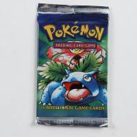 Pokemon Base Set Venusaur Booster Pack with (11) Cards at PristineAuction.com