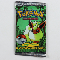 Pokemon Base Set Jungle First Edition Booster Pack with (11) Cards at PristineAuction.com
