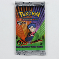 Pokemon TCG Gym Challenge First Edition Booster Pack with (11) Cards at PristineAuction.com