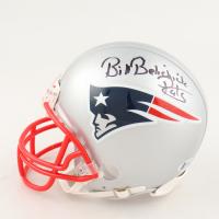 "Bill Belichick Signed Patriots Mini Helmet Inscribed ""Pats"" (Beckett COA) at PristineAuction.com"
