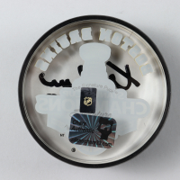 Zdeno Chara Signed 2011 Stanley Cup Champions Bruins Logo Acrylic Hockey Puck (Your Sports Memorabilia Store COA) at PristineAuction.com
