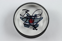 Blake Wheeler Signed Jets Logo Acrylic Hockey Puck (Your Sports Memorabilia Store COA) at PristineAuction.com