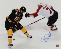 Benoit Pouliot Signed Bruins 16x20 Photo (YSMS COA) at PristineAuction.com