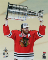 Duncan Keith Signed Blackhawks 16x20 Photo (YSMS COA & Keith Hologram) at PristineAuction.com