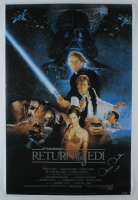 "Anthony Daniels Signed ""Star Wars: Return of the Jedi"" 24x36 Movie Poster Inscribed ""C-3PO"" (Radtke COA) at PristineAuction.com"