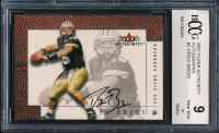 Drew Brees 2001 Fleer Authority Autographs #2 (BCCG 9) at PristineAuction.com